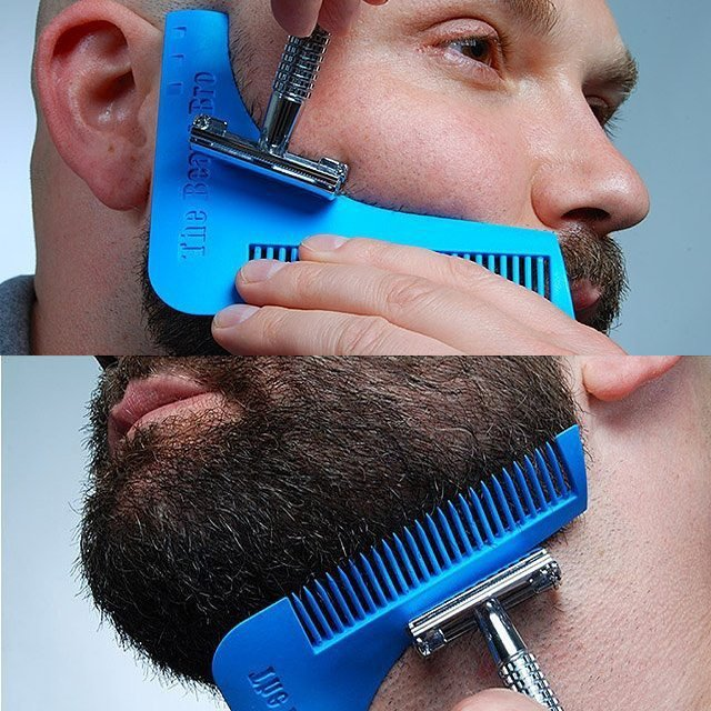 The Beard Bro Beard Shaping Tool