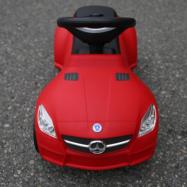 Mercedes SLK 55 AMG Foot To Floor
