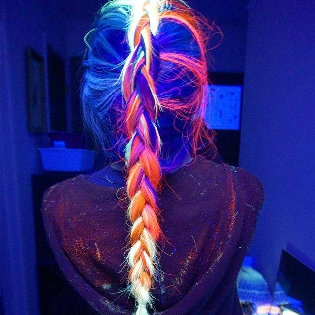 Manic Panic Blacklight Hair Dye
