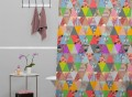 Lost In Pyramid Shower Curtain