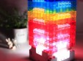 DIY Block Desk Lamp