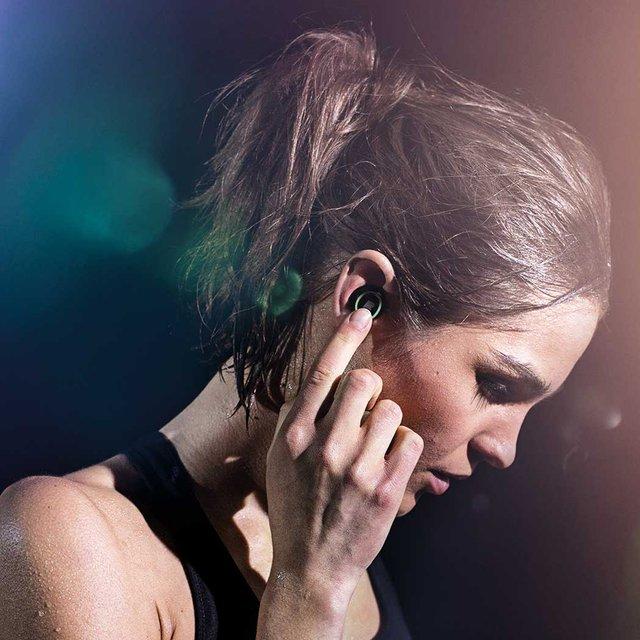 Dash Wireless Fitness Headphones by Bragi