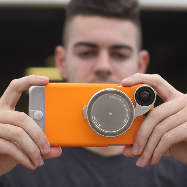 Ztylus Metal iPhone 6 Plus & 6S Plus Case & Lens Adapter Kit