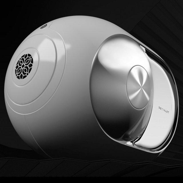 Silver Phantom Wireless Speaker by Devialet