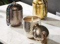 Casbah Hammered Covered Scented Candle
