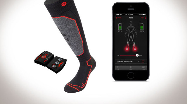 Lenz Bluetooth Heated Socks