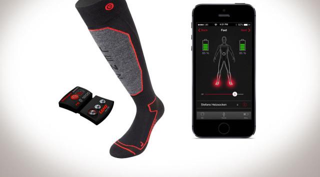 Lenz Bluetooth Heated Socks