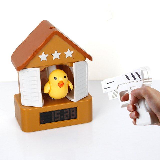 Cuckoo Shooting Alarm Clock