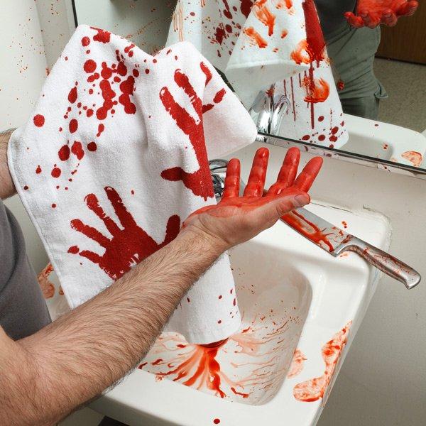 Blood Bath Towel
