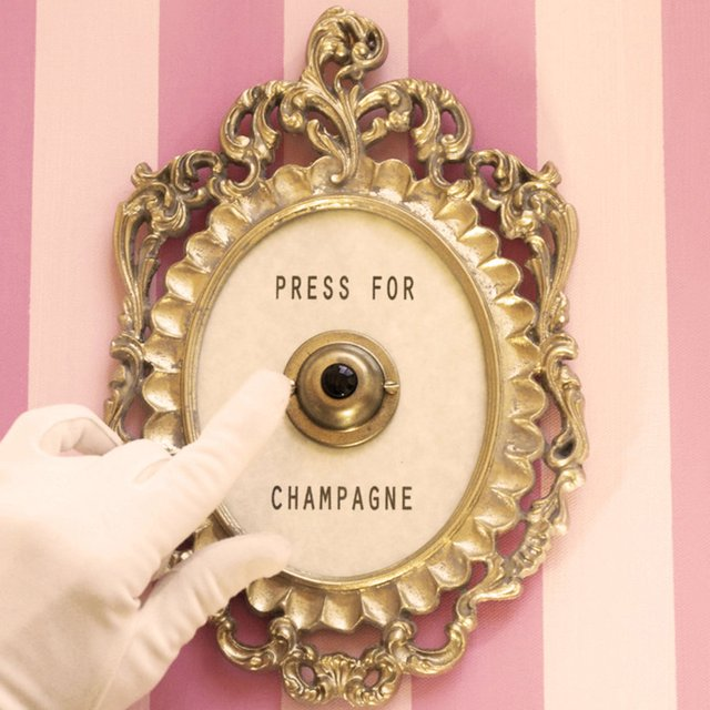 Press For Champagne Button