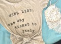 Italian Wishlist Easy Tee by Wildfox Couture