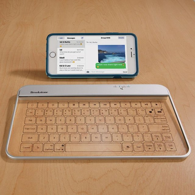 Wireless Glass Keyboard