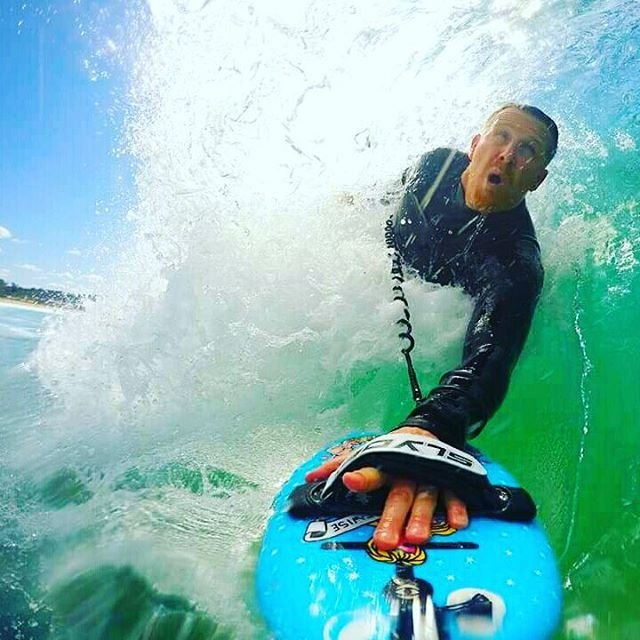 Karma Wedge Bodysurfing Handboard with GoPro Attachment