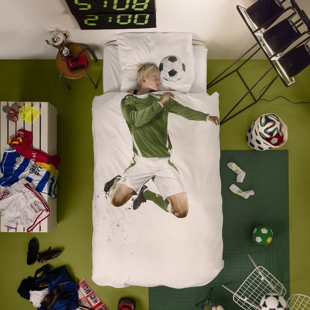 Soccer Champ Duvet Cover