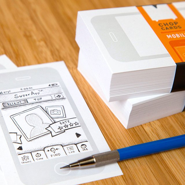 Chop Cards Mobile Sketch Pads