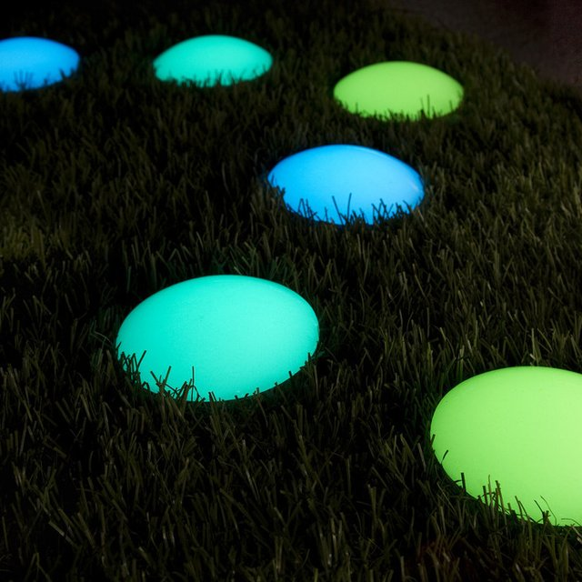 Photoluminescent Road Markers