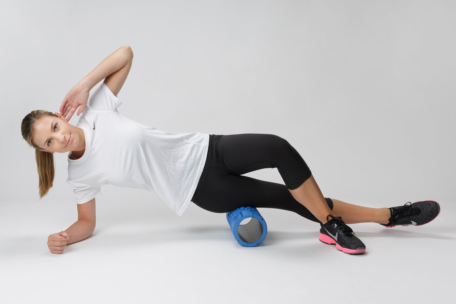 BodyForm Foam Roller with Deep Tissue Massage