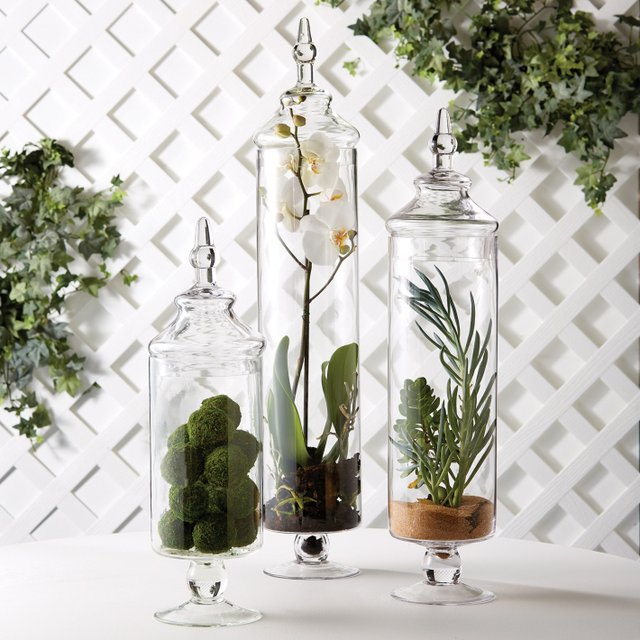 Chateau Botanical Jars Set