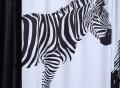 Zebra Pattern Curtains
