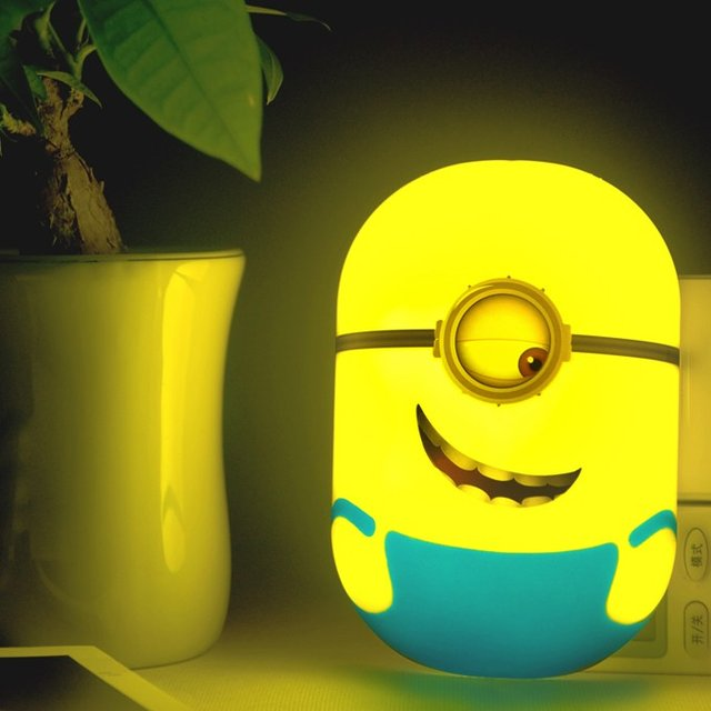 Minion LED Sensor Nightlight