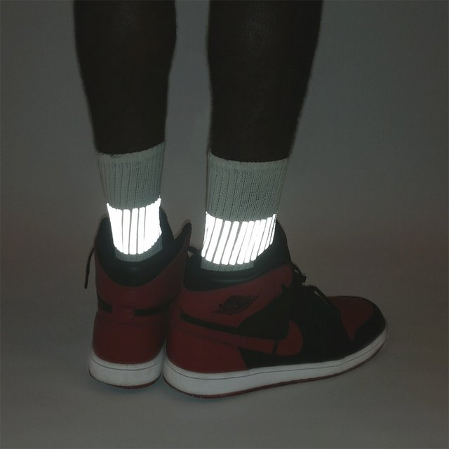 Reflective Gear-017 Band 3M Socks by HEISEL