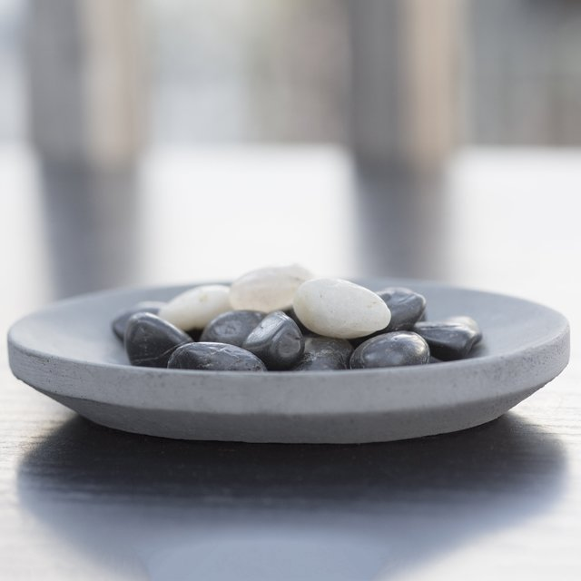 Concrete Oval Soap Dish by Iris Hantverk