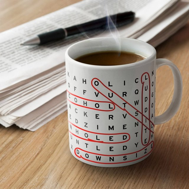 Work Search Mug