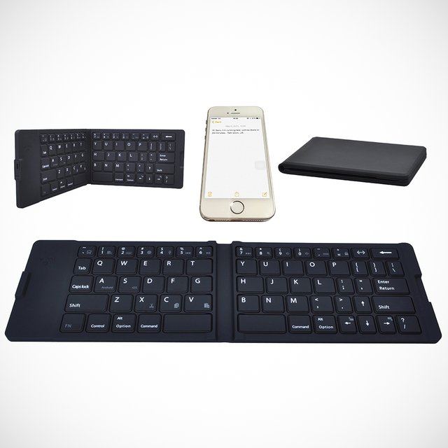 Waterproof Portable Bluetooth Keyboard