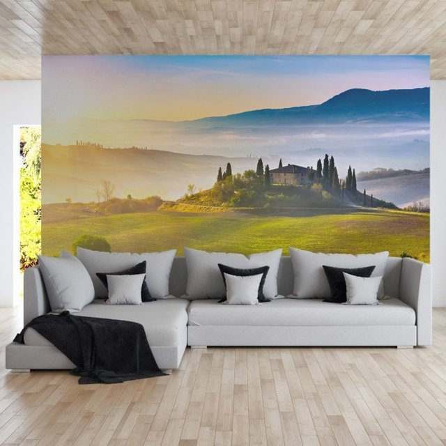 Tuscany Repositionable Wall Mural