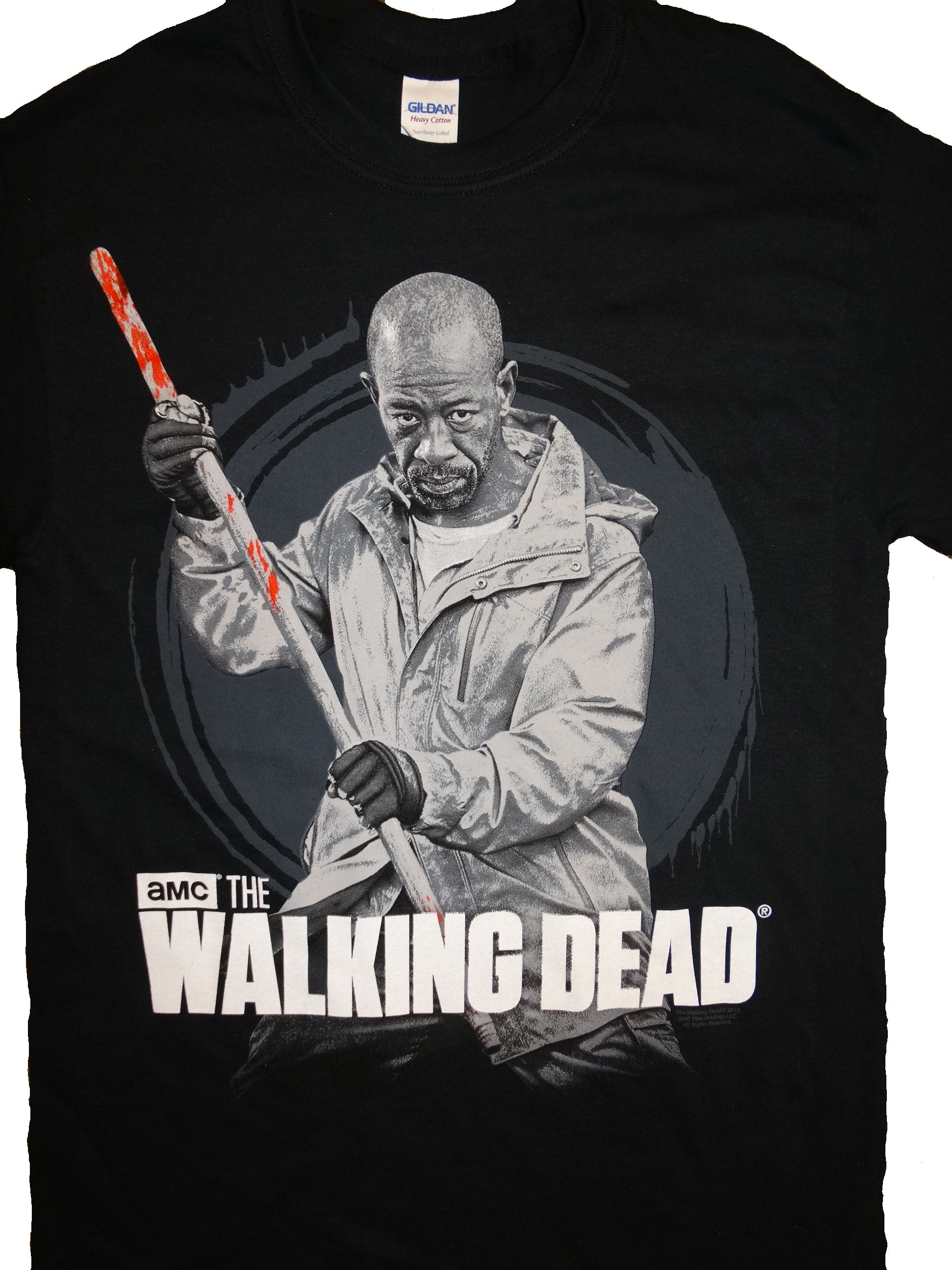 The Walking Dead Bloody Staff T-Shirt