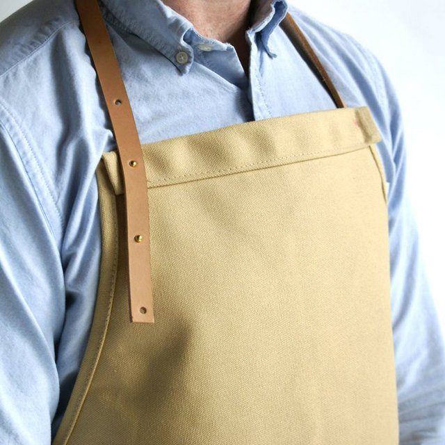 Honey Canvas Apron by YIELD