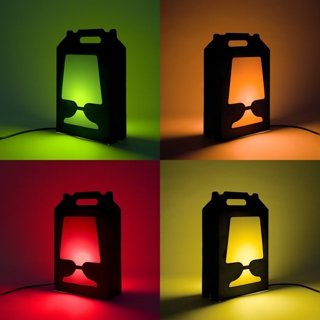 Flamp Noir Table Lamp