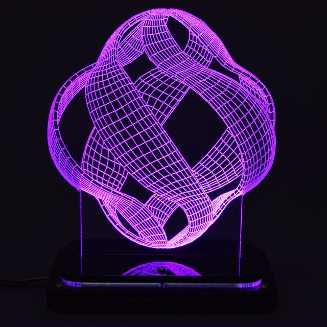 Lantern 3D Illusion Light Sculpture