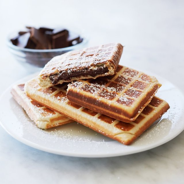 Croquade Stuffed Belgian Waffle Make