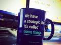 Strategic Plan Mug