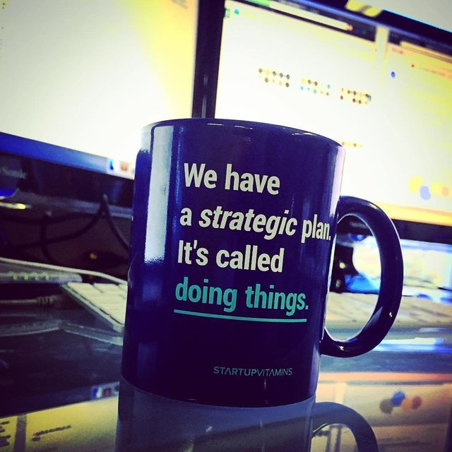 Strategic Plan Mug