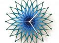 Peacock Wooden Clock