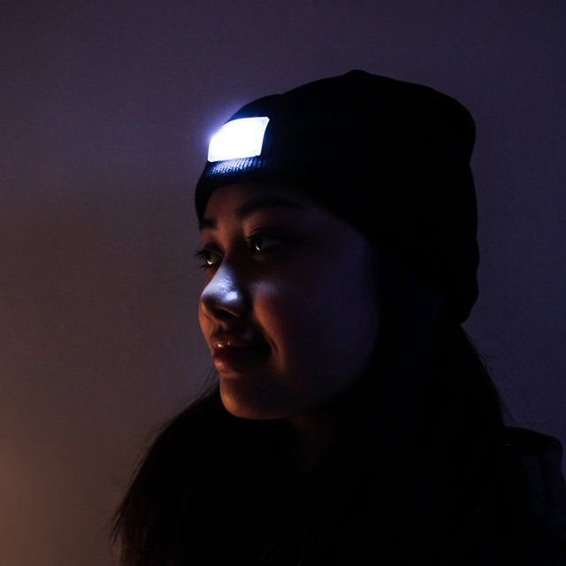 Ultra Bright 5 LED Beanie