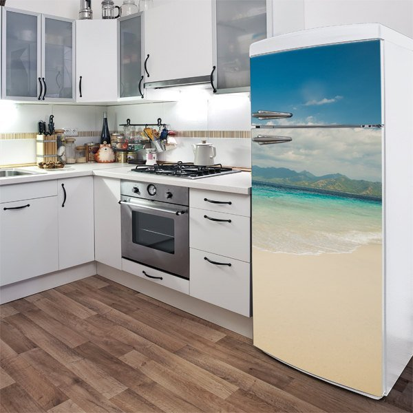 Take Me to Lombok Fridge Door Decal