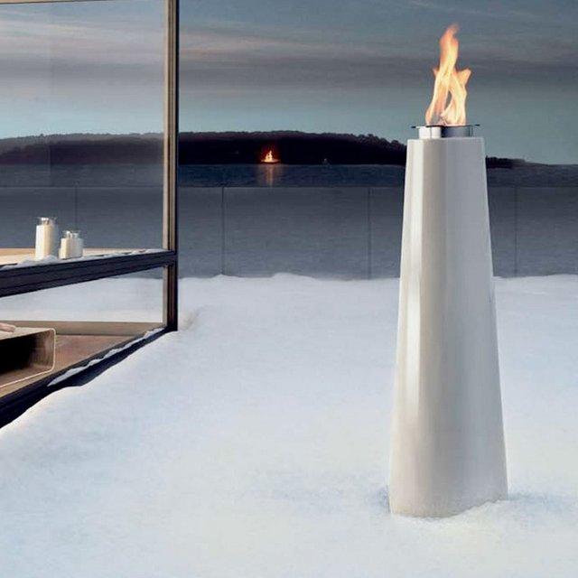 Pipeline Concrete Bud Vase
