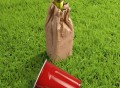 Wine'O Insulated Brown Bag
