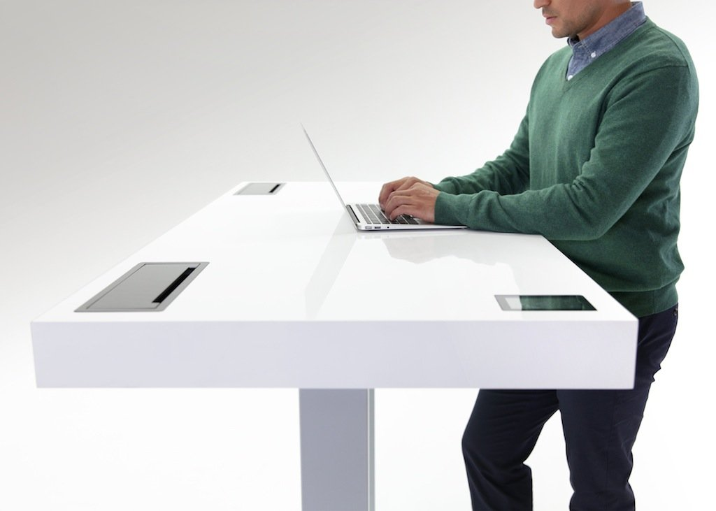 Sit & Stand Kinetic Desk by Stir Works