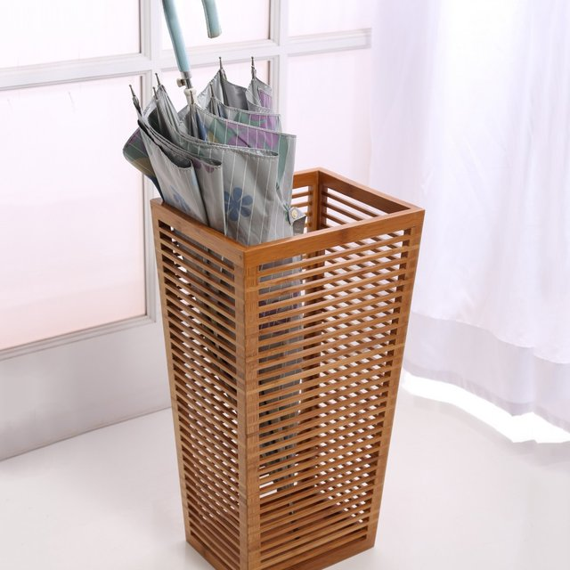 Open Slats Entryway Umbella Holder