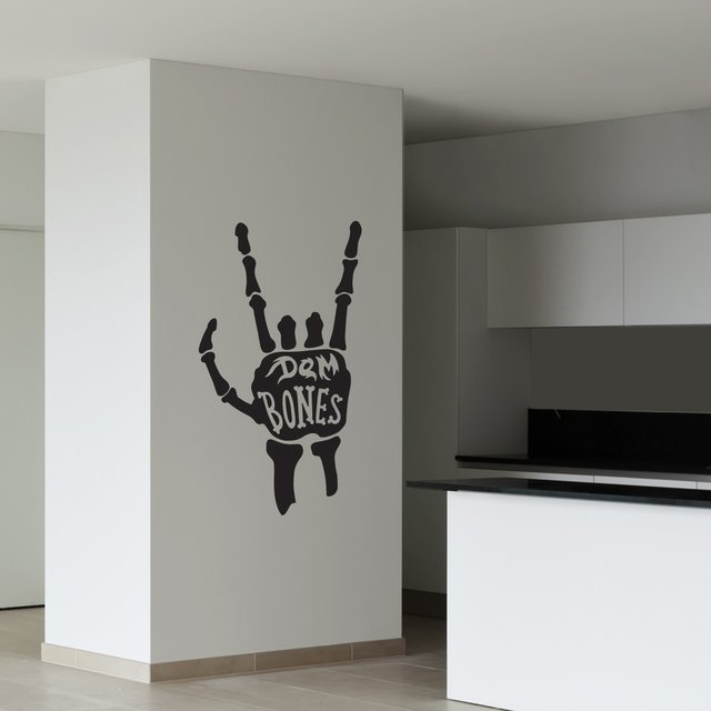 Dem Bones Wall Decal