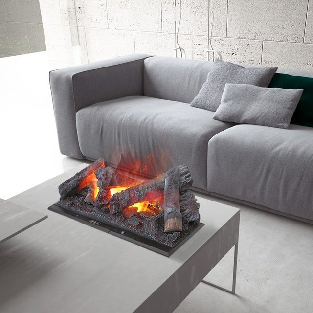 Cassette Electric Water Vapor Fireplace