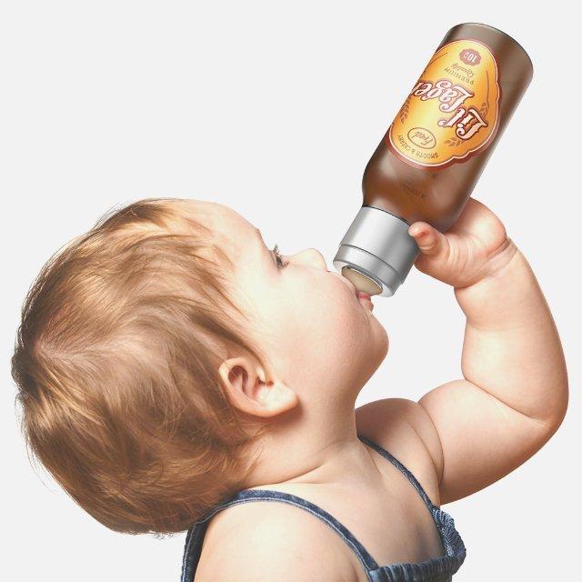 Lil' Lager Baby Bottle