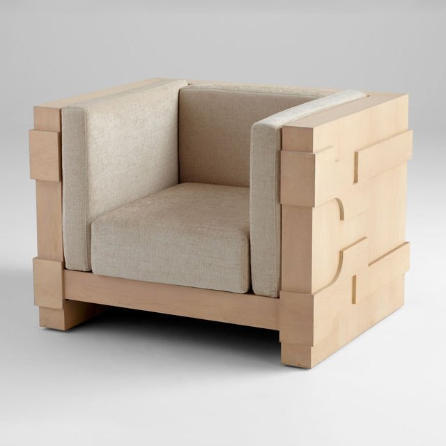 Mr. Pitt Chair by Cyan Design
