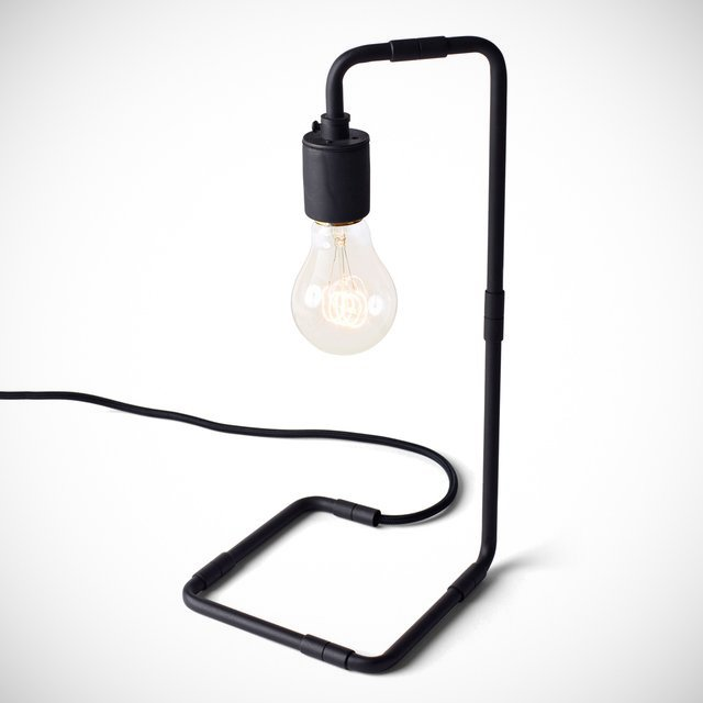 Tribeca Reade Black Table Lamp by Menu