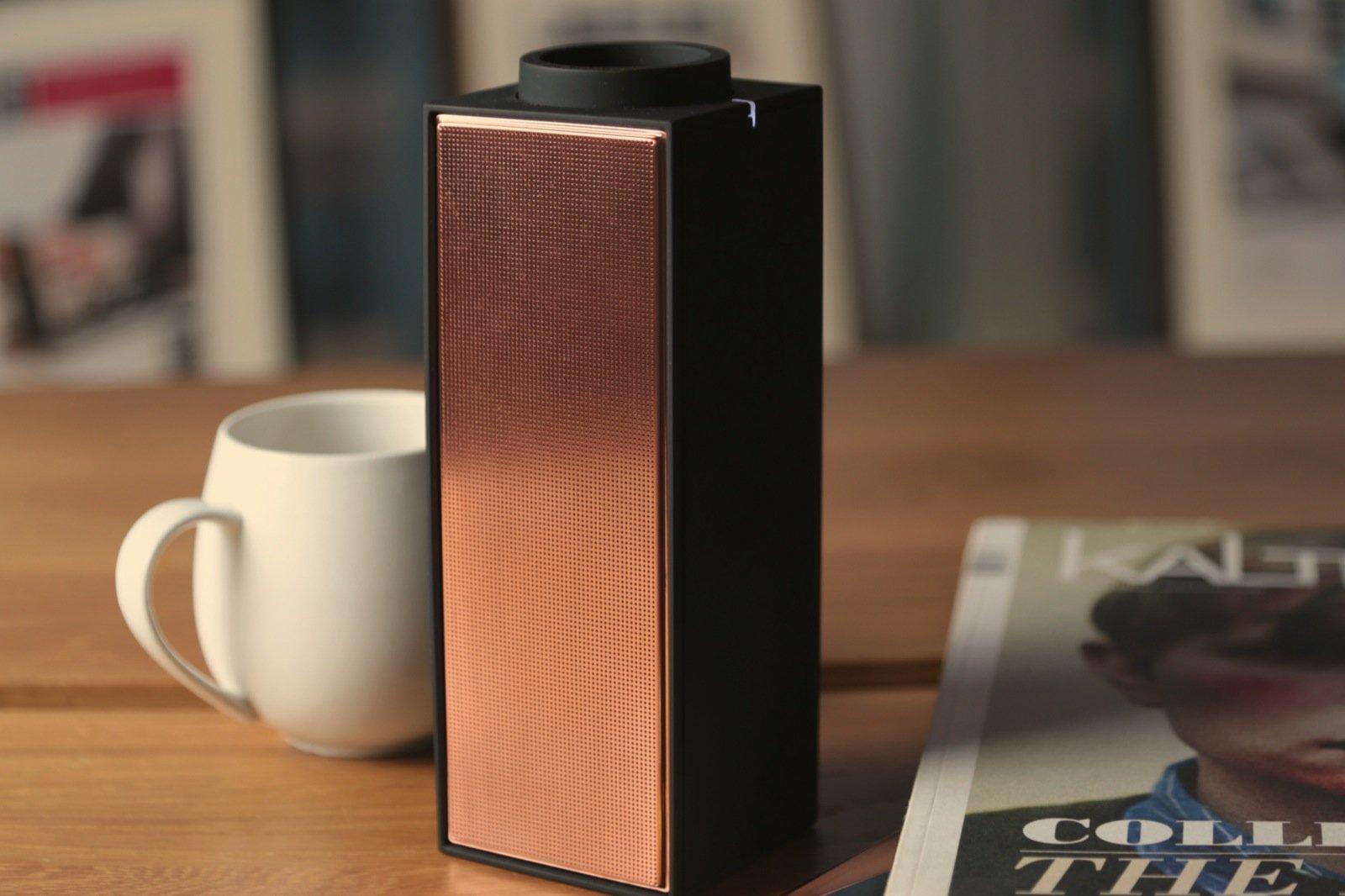 Switch Black Copper Bluetooth Speaker