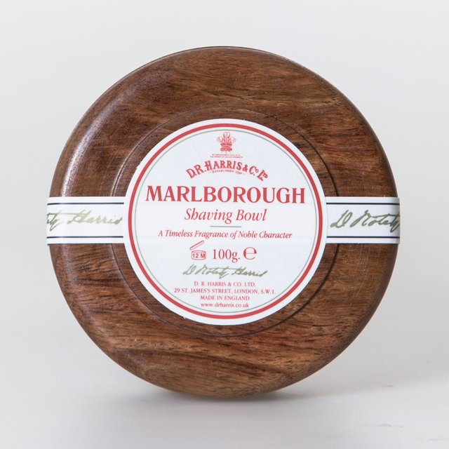Dr. Harris Marlborough Shaving Soap Mahogany Bowl
